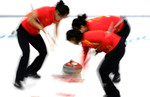 Curling, China
